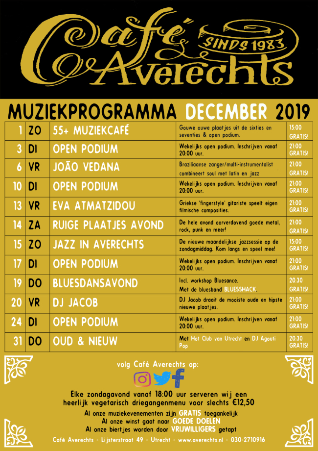 Muziekprogramma dec 2019 small