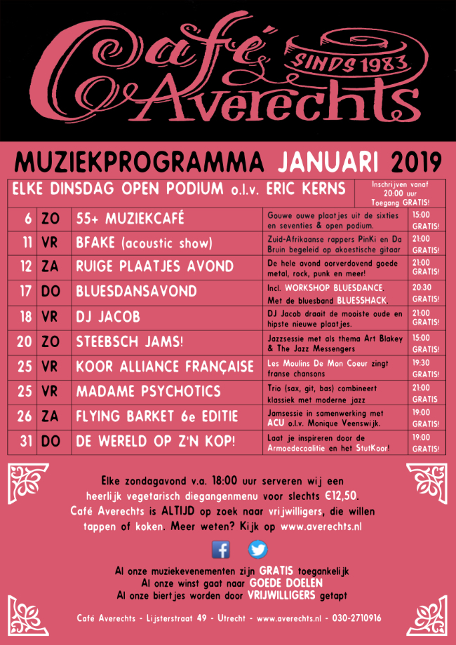 Muziekprogramma jan 2019 small