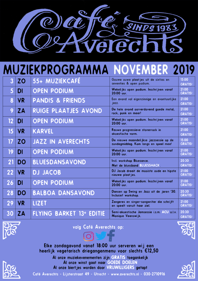 Muziekprogramma nov 2019 small