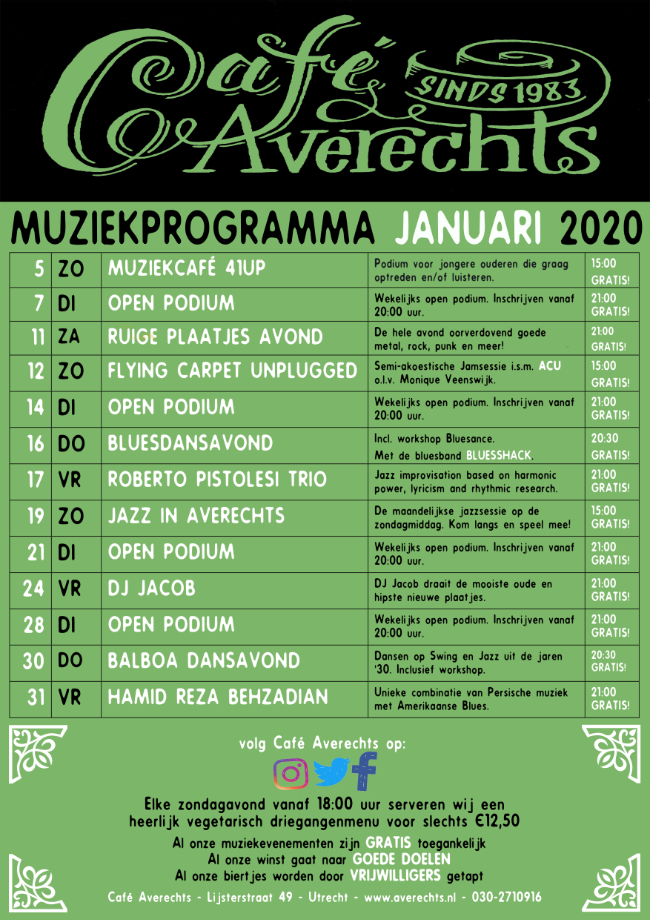 Muziekprogramma jan 2020 small2
